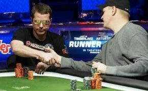 Busting in 3rd in a $5,000 WSOP event to Erik Lindgren. © PokerListings
