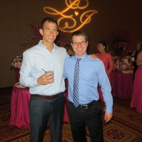 Shannon Shorr and I at Jack Schanbacher's wedding