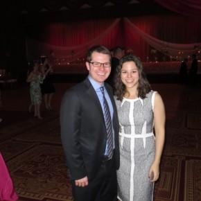 Amie and I at Jack Schanbacher's wedding