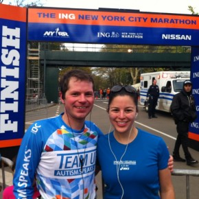 We finished the NYC marathon!